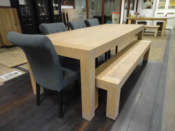 norfolk eiken houtentafel